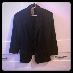 Black comfortable blazer
